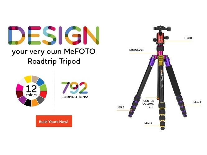 Η MeFOTO ανακοίνωσε την υπηρεσία BYOT για τη σειρά τριπόδων RoadTrip Travel