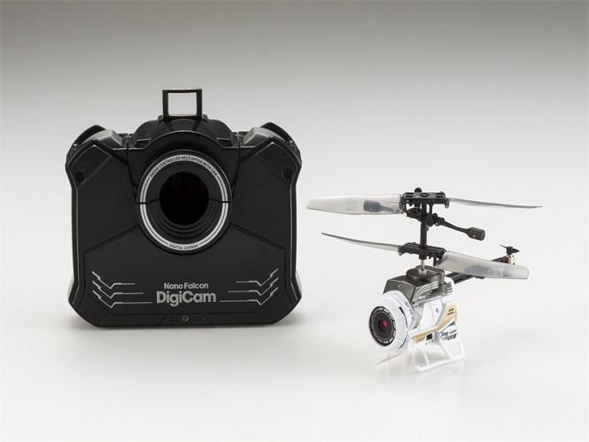 Το NanoFalcon Digicam είναι μια μικρή κάμερα με ενσωματωμένους έλικες