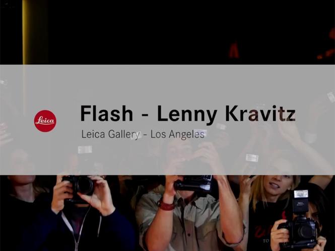 Video από τα εγκαίνια της έκθεσης φωτογραφίας του Lenny Kravitz στο Λος Άντζελες