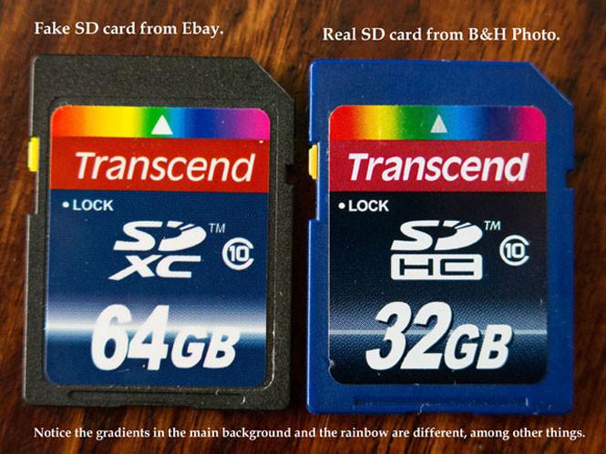 Μην αγοράζετε κάρτες μνήμης από το Ebay 9a336f1d99a