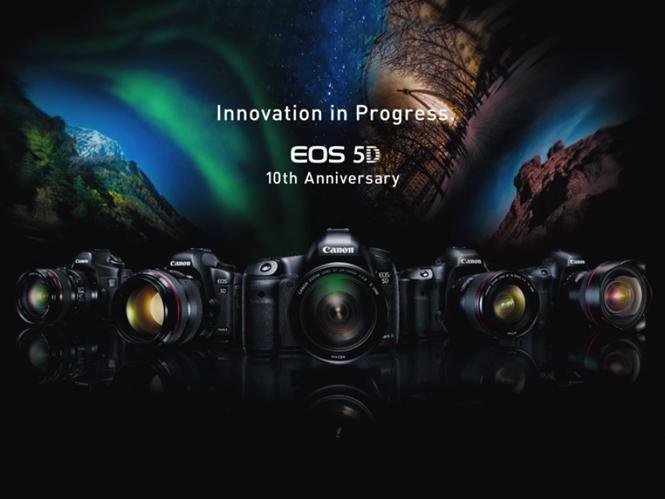Η σειρά Canon EOS 5D κλείνει 10 χρόνια