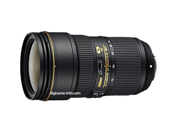 Η Nikon ετοιμάζει τρεις νέους φακούς, ανάμεσα τους τον νέο 24-70 f/2.8 με σταθεροποιητή