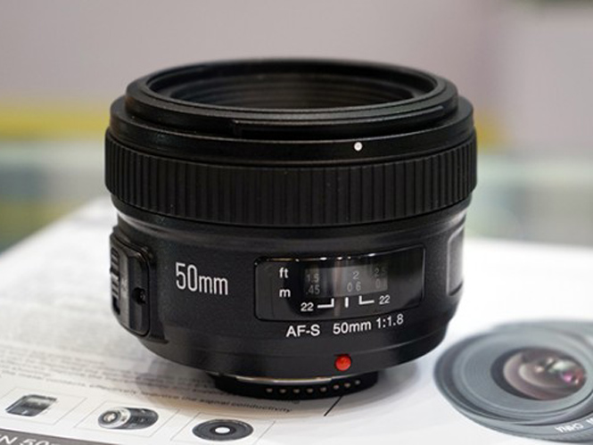 Πρώτη εμφάνιση για τον Yongnuo 50mm f/1.8 για Nikon μηχανές