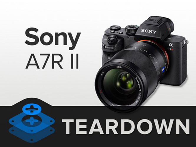 TearDown της Sony A7R II, δείτε τα σπλάχνα της