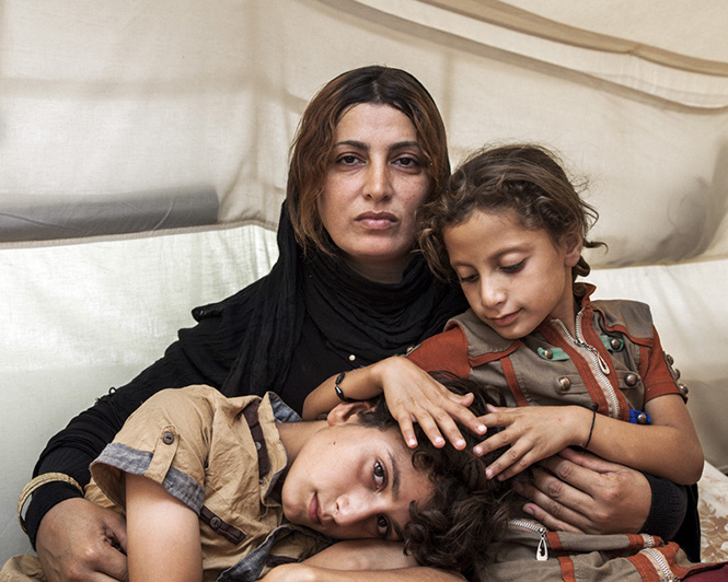 Amira and her Children
