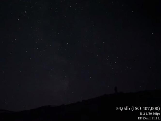 Νέο video δείγμα από τη κάμερα της Canon με τα 4.560.000 ISO