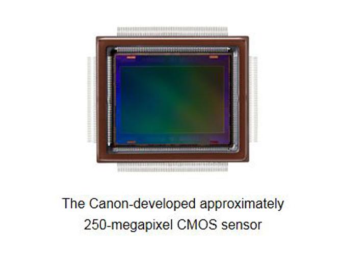 H Canon παρουσιάζει τον μεγαλύτερης ανάλυσης αισθητήρα στον κόσμο