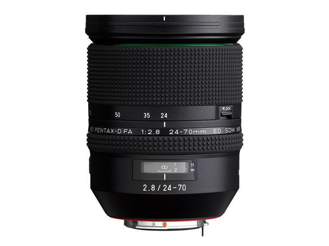 Νέος φακός Pentax D FA 24-70mm F2.8ED SDM WR