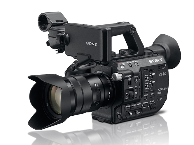 Sony PXW-FS5, νέα Super 35mm 4K camcorder με δυνατότητα αλλαγής φακών