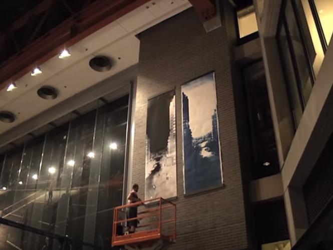 Φωτογράφος μετατρέπει ολόκληρο κτήριο σε μία camera obscura