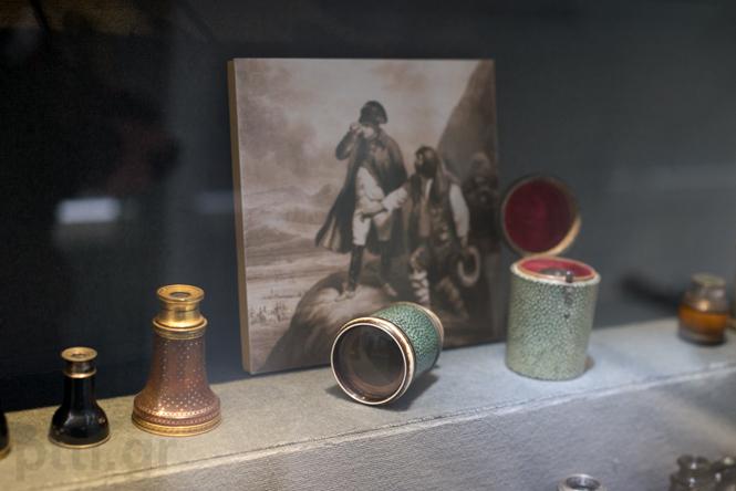 Το μονόκυαλο του Ναπολέοντα, που βρέθηκε στο πεδίο μάχης του Βατερλώ