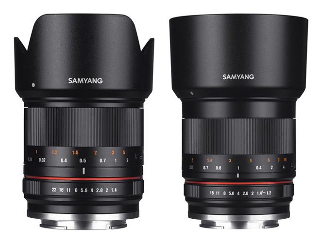 Τέσσερις νέοι φακοί από τη Samyang για mirrorless μηχανές