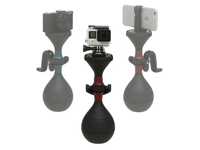 solidLUUV, ένα stabilizer για compact μηχανές, smartphones και action cameras