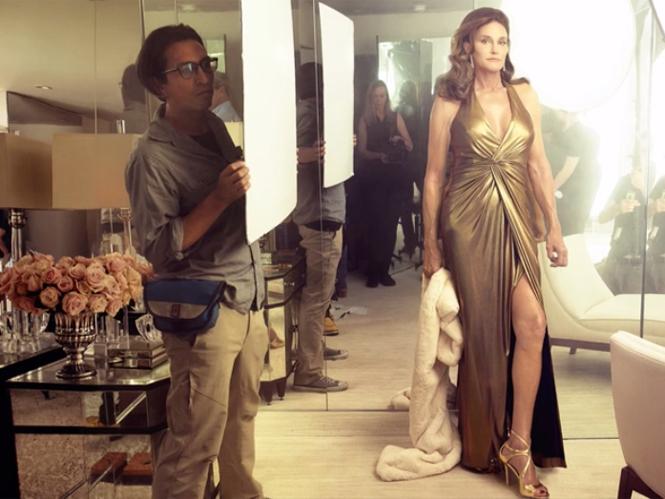 H Annie Leibovitz φωτογραφίζει την Caitlyn Jenner
