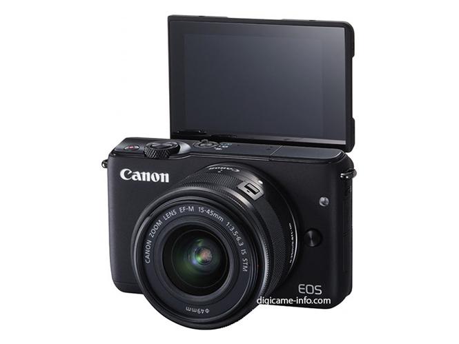 Διέρρευσαν νέες φωτογραφίες της Canon EOS M10