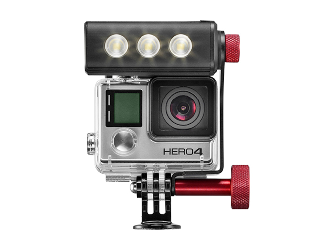 Manfrotto Off Road ThrilLED, ένα LED για τη GoPro