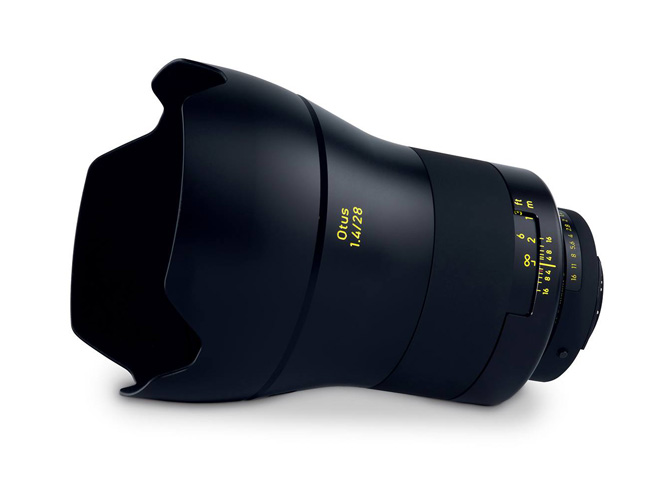 Zeiss Otus 1.4/28, νέος ευρυγώνιος για Full Frame DSLR μηχανές