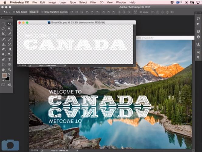 Πως να δημιουργήσετε αντανακλάσεις κειμένου με το Adobe Photoshop