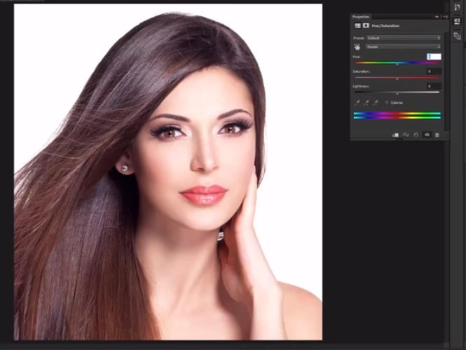 Αλλάξτε το χρώμα των μαλλιών στο Adobe Photoshop με 3 διαφορετικές μεθόδους