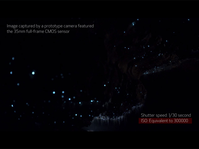 Νέος αισθητήρας της Canon γράφει στο σχεδόν απόλυτο σκοτάδι