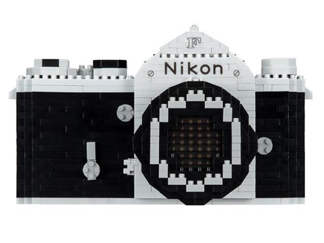 Φτιάξε μία Nikon F από τουβλάκια
