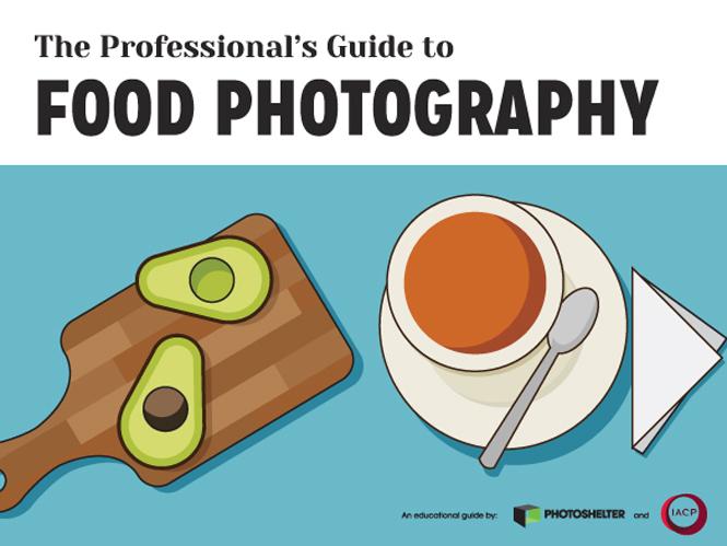 Δωρεάν οδηγός επαγγελματικής φωτογράφισης φαγητών από τη PhotoShelter