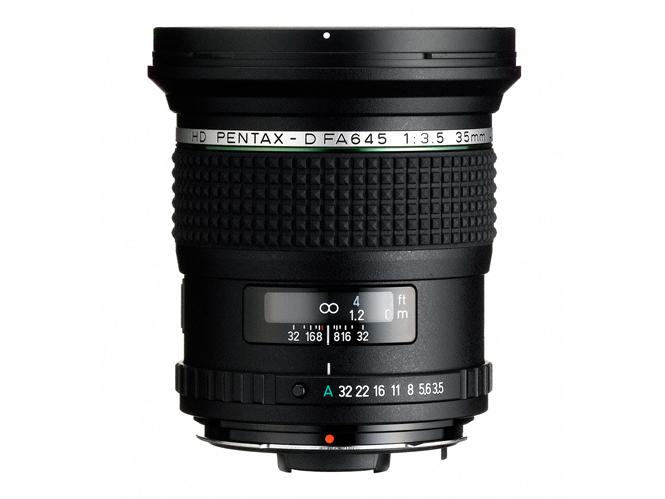 Νέος φακός HD Pentax-D FA645 35mm F3.5 από τη Ricoh