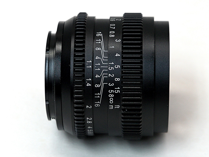 SLR Magic Cine 50mm-1
