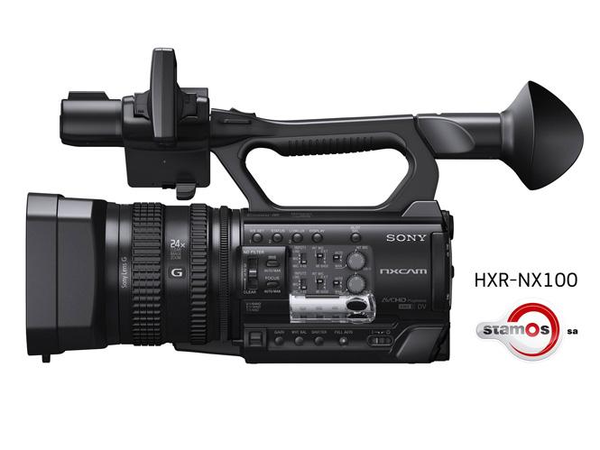Sony HXR-NX100, ξεκίνησε η διάθεση της στην ελληνική αγορά