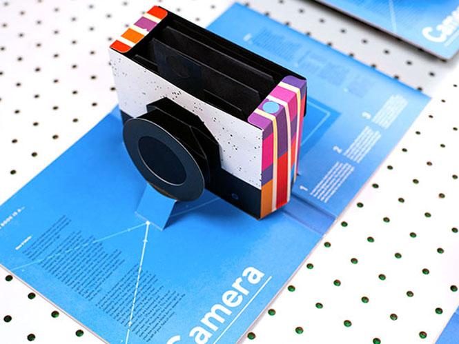 Δείτε ένα βιβλίο που κρύβει στο εσωτερικό του μία φωτογραφική μηχανή