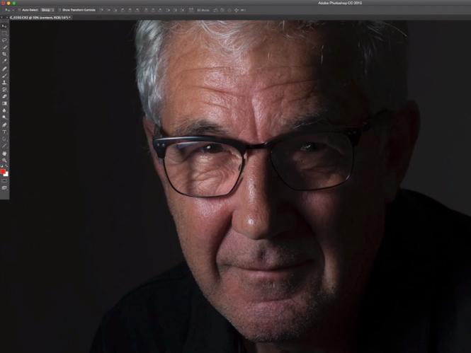 Αφαιρώντας σκιές από πρόσωπο με το Adobe Photoshop