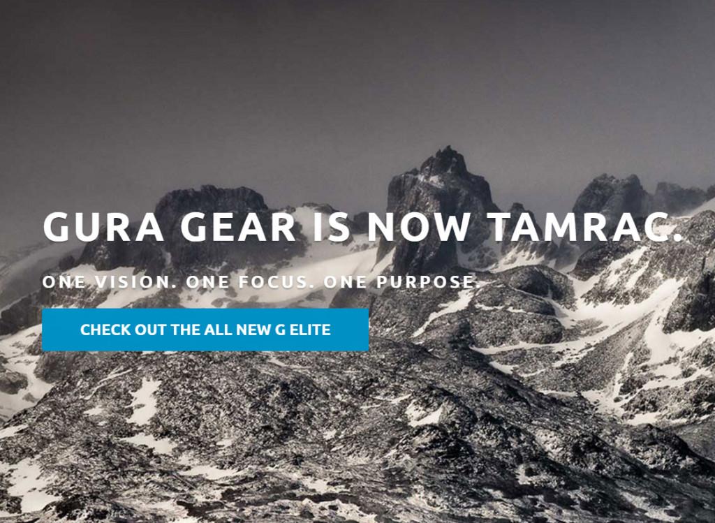 Η Gura Gear εγκαταλείπει το όνομα της για χάρη της Tamrac