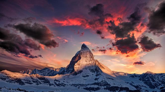 Amazing Matterhorn by Thomas Fliegner