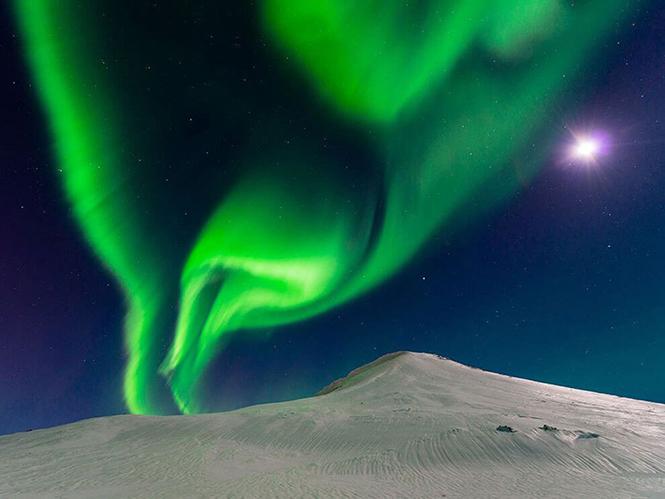 Andrew George, Ισλανδία
