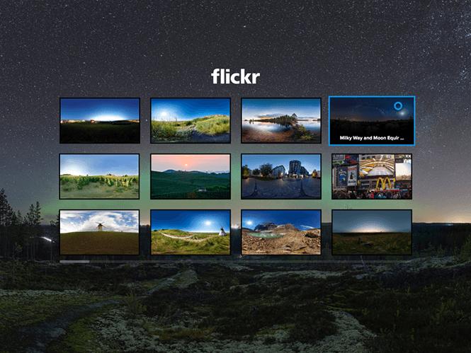 Η Flickr παρουσιάζει την ειδική εφαρμογή της για το Samsung Gear VR