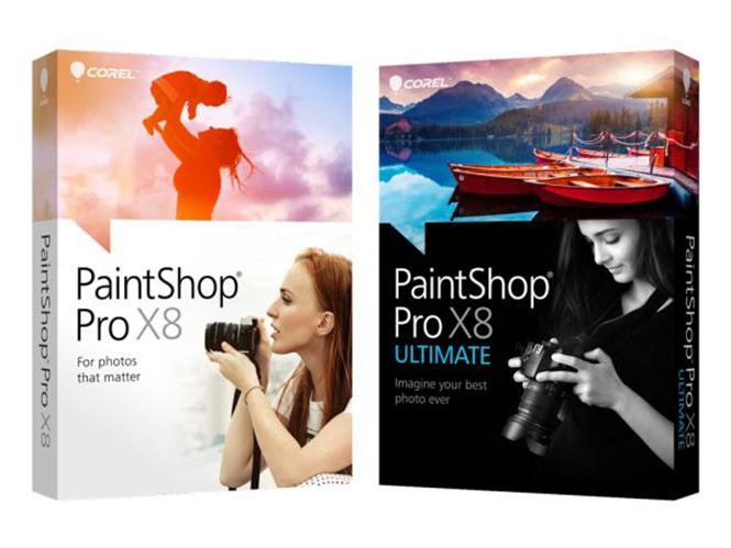 Corel PaintShop Pro X8 Service Pack 1,  αναβάθμιση με μικρές βελτιώσεις