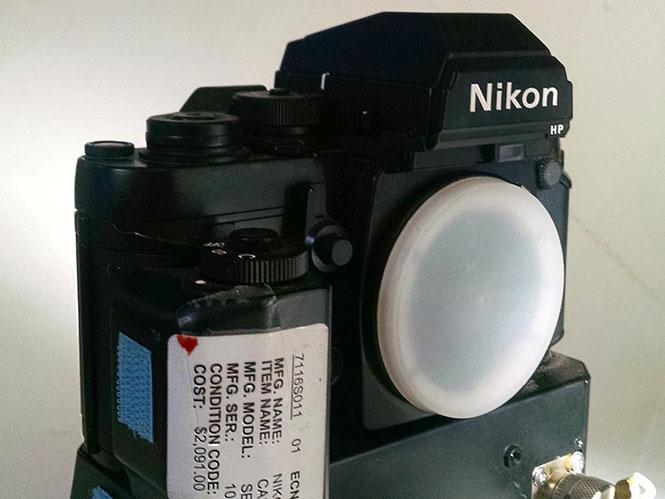 Nikon F3, NASA Space Shuttle: πωλείται στο ebay προς 12.500 ευρώ