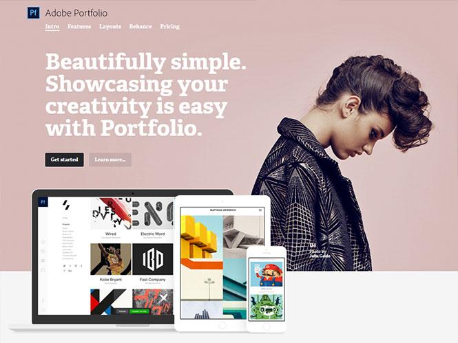 Adobe Portfolio: νέα υπηρεσία από την Adobe για τη δημιουργία site – portofolio
