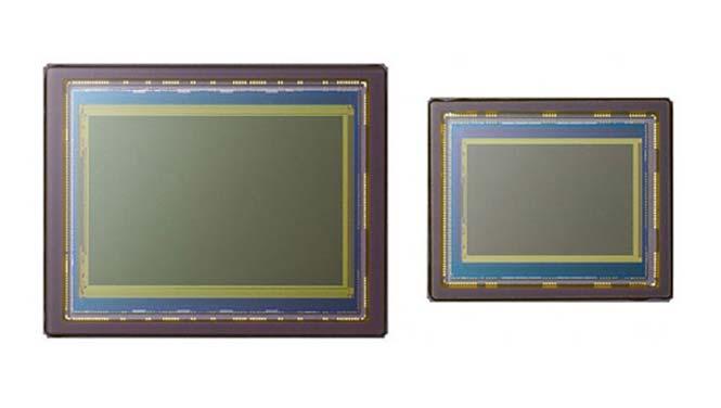 Αριστερά FF αισθητήρας και δεξιά APS-C