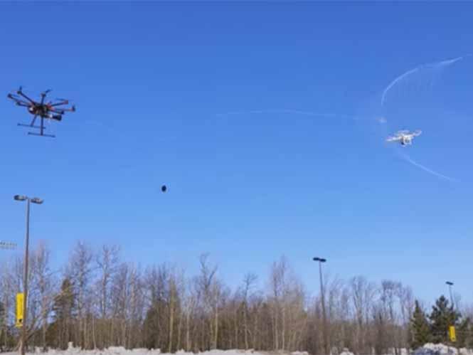 Drone Catcher, το drone που συλλαμβάνει άλλα drone σαν τον Spiderman