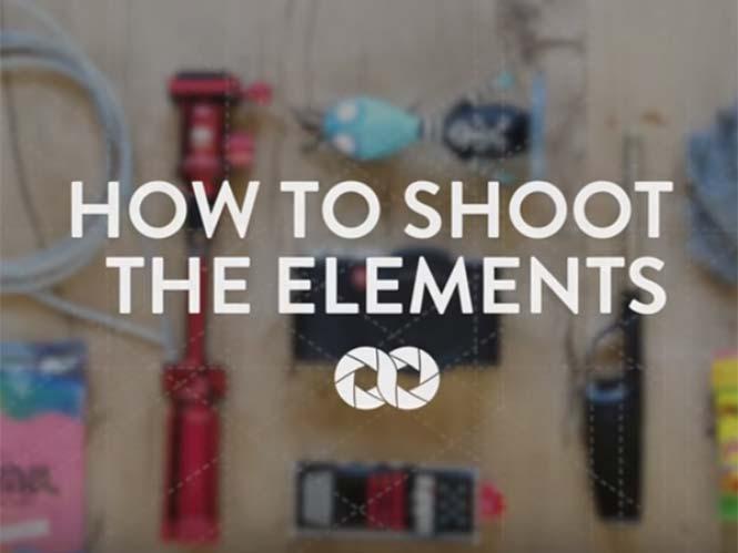 """Πως να φωτογραφίσετε τα στοιχεία της φύσης με μία """"σκληρή"""" μηχανή"""