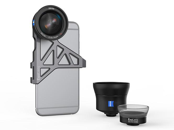 ZEISS, μπαίνει στον κόσμο της iPhone φωτογραφίας με τους φακούς ExoLens