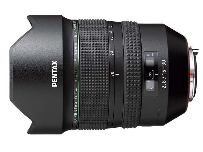 HD PENTAX-D FA 15-30mm F2.8ED SDM WR, νέος φακός για την Full Frame μηχανή