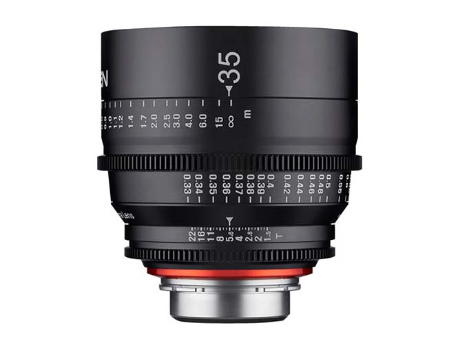 Samyang Xeen 35mm