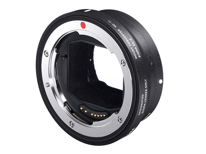 Νέο Firmware για τον adapter SIGMA MOUNT CONVERTER MC-11 SA-E