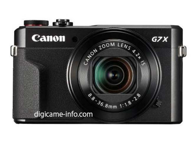 Διέρρευσαν οι πρώτες εικόνες των Canon Powershot G7 X II και SX720 HS
