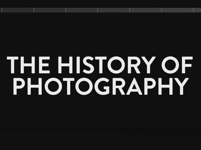 H ιστορία της φωτογραφίας σε ένα video 5 λεπτών