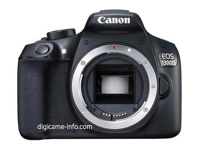 Διέρρευσαν φωτογραφίες και τα τεχνικά χαρακτηριστικά της Canon EOS 1300D