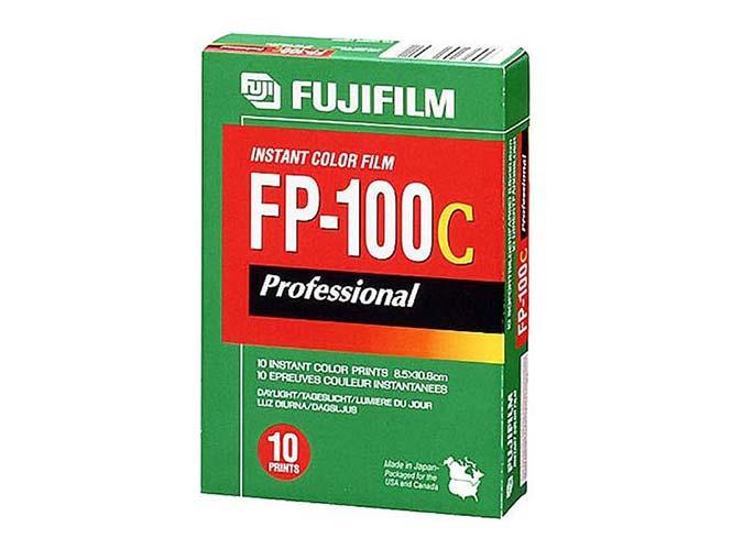 Fujifilm: Τίτλοι τέλους για το έγχρωμο instant film Fujifilm FP-100C