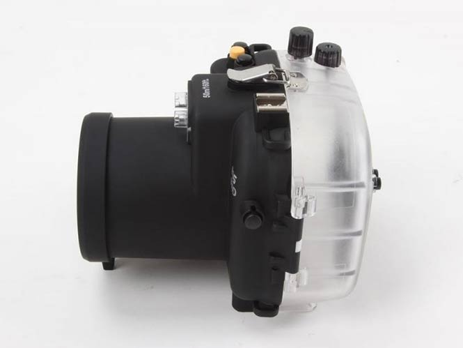 Polaroid Dive Rated Waterproof Underwater Housing Case